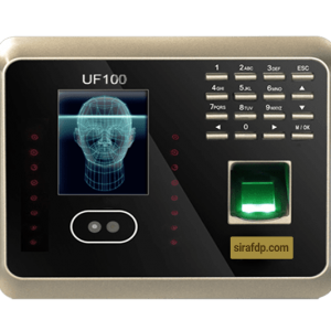 حضور و غیاب تشخیص چهره UF100